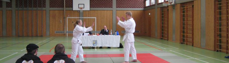 Prüfungen und Wettkämpfe Ju-Jutsu