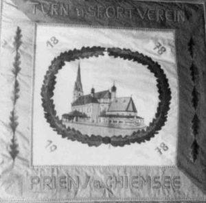TuS Prien 100 Jahre - Die neue Vereinsfahne