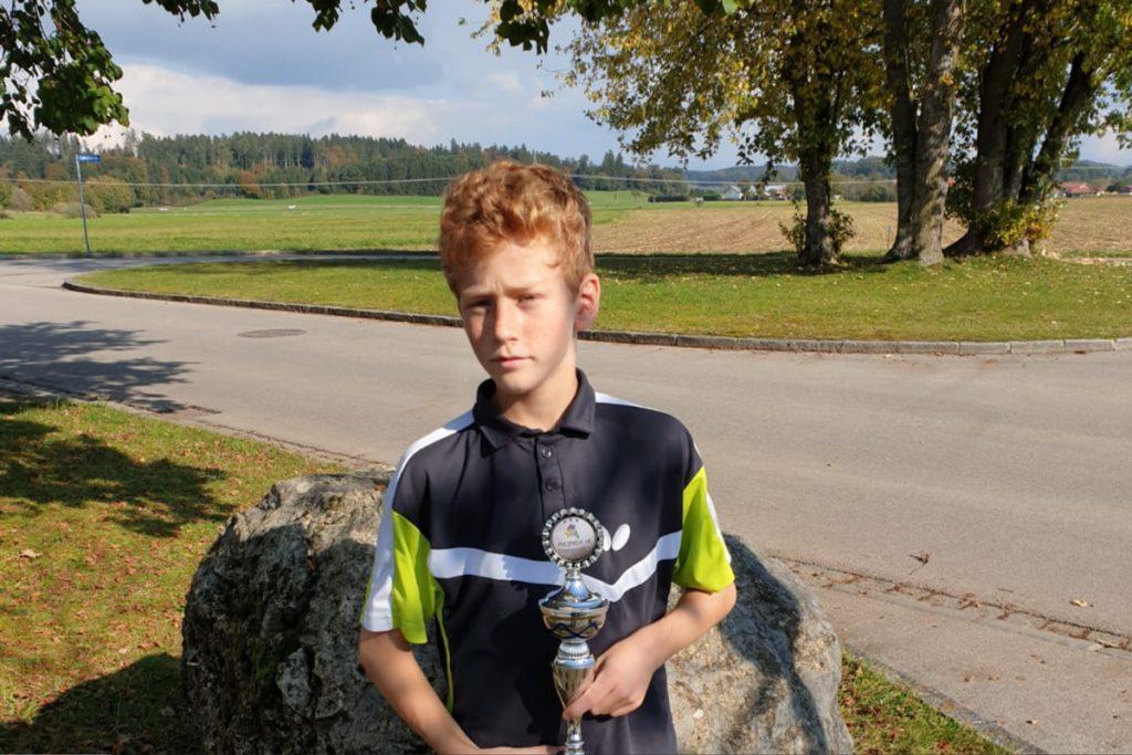 Leonard Maraun gewinnt die Bezirkseinzelmeisterschaft