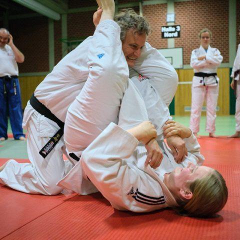 Ju-Jutsu-Erwachsenen Training