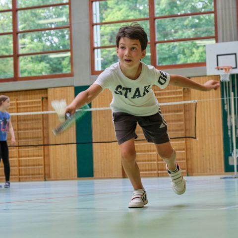 Badminton Kinder- und Jugendtraining
